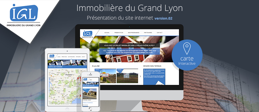 L'immobilière du Grand Lyon dévoile son nouveau site