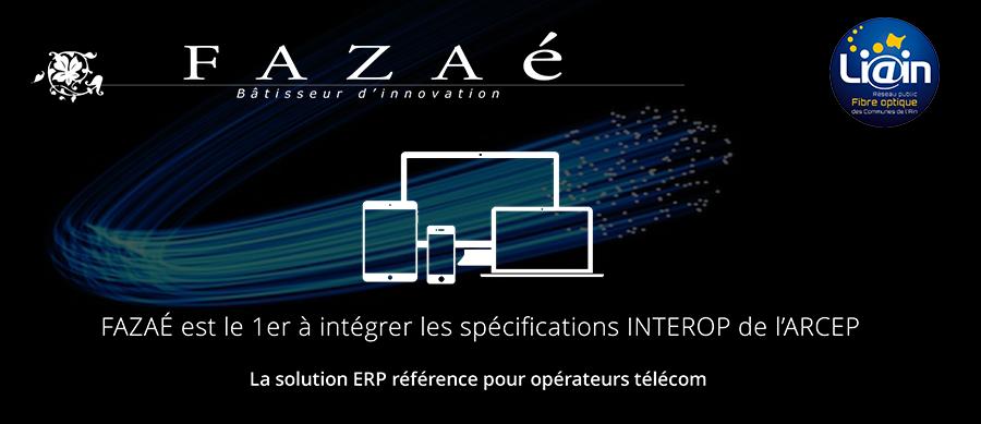 Fazaé participe avec Orange et le SIEA au déploiement de la fibre optique dans l'Ain