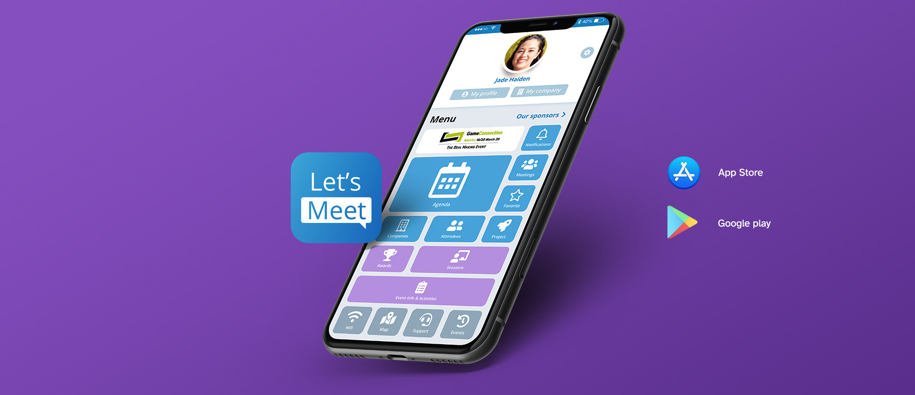 Application mobile Let's MeeT