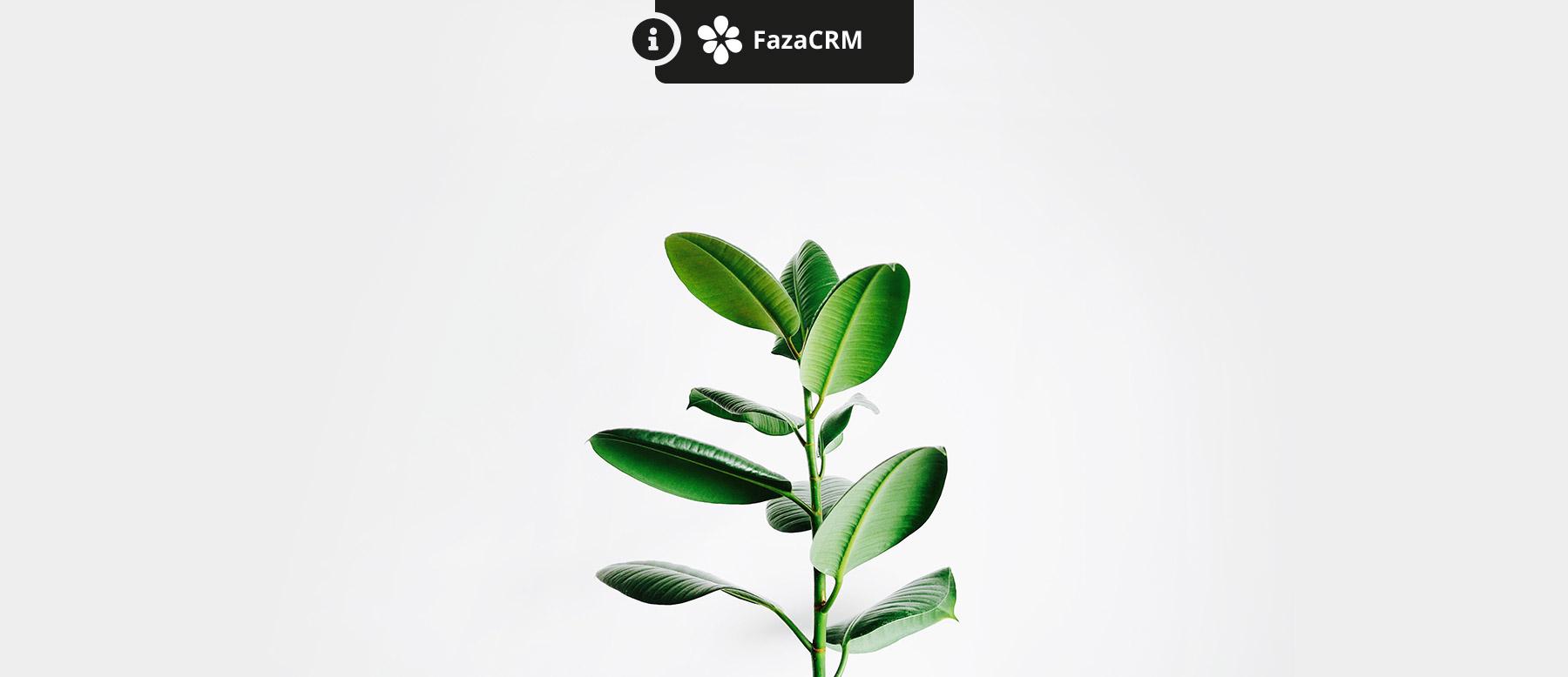 Aide au démarrage dans FazaCRM