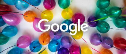 Joyeux Anniversaire Google !